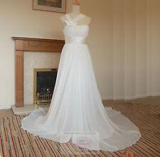 Empire-Brautkleider aus Chiffon