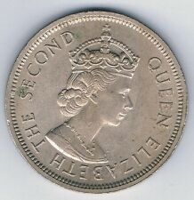 1960 The Second Queen Elizabeth Hong Kong ONE DOLLAR COIN