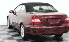 Mercedes CLK Convertible Soft Top in BLACK GERMAN A5 -BEST QUALITY FITS: 04-09