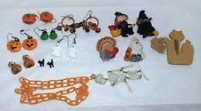 13pc Halloween Contempory Fashion Jewelry Mixed Items Mixed Lot (Earrings, Pins