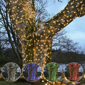 ConnectPro Connectable LED Outdoor Fairy String Lights | Christmas Home Garden