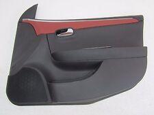 09 CHEVY MALIBU Ebony Brick Black Red RF Right Front Passenger Door Trim Panel