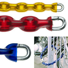 Through Hardened Security Chain HEAVY DUTY Tempered Steel Motorcycle Bike Chain
