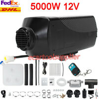 5KW 12V Air Diesel Heater Remote LCD Monitor for Car Truck Motor Boat Silencer