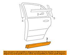 HYUNDAI OEM 05-06 Santa Fe REAR DOOR-Body Side Molding Left 8773126500