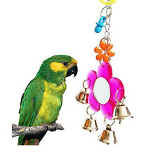 Flower Bird Hanging Mirror & Bell