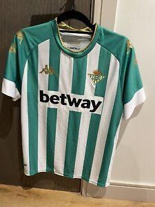 Real Betis Home Shirt Mens M 2020/21