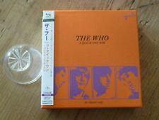 The Who: A Quick One 2 SHM CD Box Japan Mini-LP UICY-93539/40 Mint (townshend Q