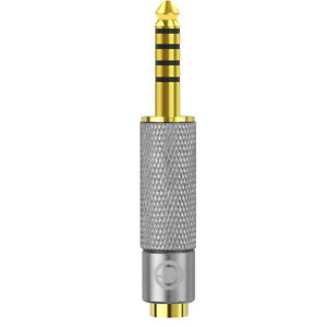 Geekria 4.4mm Male to 3.5mm Female Balanced Gold-Plated Adapter