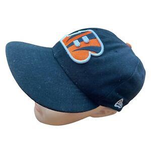 New Era Embroidered Baseball Cap Hat Cincinnati Bengals 6 3/4 NFL Black