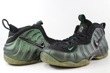 dee5df21b93 Nike Air Foamposite Pro Pine Green Black Size 9.5 624041-301