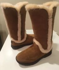 New Chestnut Ugg Classic Katia Suede Tall Boots SZ 7 Women's 🛍 🎀Save 💰🎀🛍