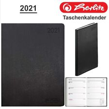Xl-pack 15x Herlitz Taschenkalender Folie 2021 Farbig sortiert A6