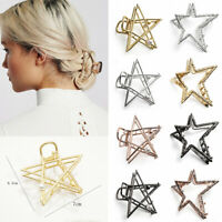 Maker Hair Accessories Women Hair Claw Pearls Hairgrip Metal Hair Clips Retro