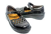 NAOT Bramble Black Leather Mary Jane Flats Women's EUR 37 / US Shoe Size 6-6.5