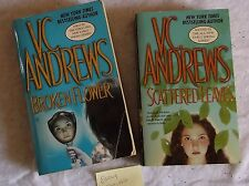 V C Andrews EARLY SPRING series complete paperback 2 books