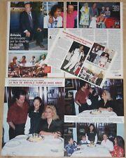 AREVALO lote prensa 1980s/00s revista fotos humorista humor actor clippings