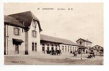 LONGUYON Meurthe et moselle CPA 54 vue de la gare dans les années 1930