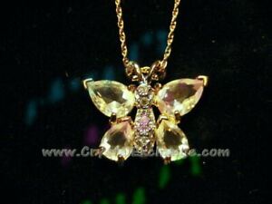 Swarovski Butterfly Pendant Necklace NK112789 w/orig Swarovski tag