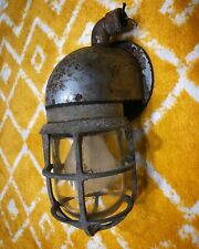 Antique New York Steampunk Nautical Industrial Light Fixture Explosion Proof