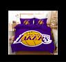 3D Purple NBA Lakers Quilt Duvet Cover Comforter Cover Single/Queen/King 320