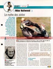 Mike HAILWOOD : Pilote Course Grand Prix GP Vitesse Fiche Moto #005114