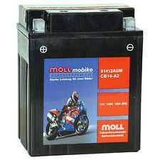 51412 MOLL mobike Agm Batería de la Motocicleta cb14-a2 12v 13ah 150a 514012015