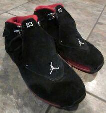 Air Jordan Retro 18 XVIII CDP Bred 2008  Sz 11 #332548-061 Basketball Shoes
