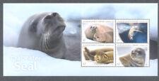 Australian Antarctic Territory Crabeater Seal mnh min sheet 2018