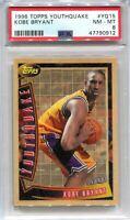 1996-97 Topps Youthquake 15 Kobe Bryant Rookie PSA 8 NM-MT