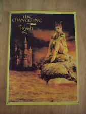 Toyah 1982 The Changeling Tour Progamme