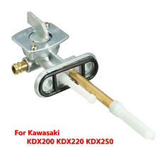 Gas Fuel Valve Petcock Tap Switch Assembly Kit For Kawasaki KDX200 KDX220 KDX250