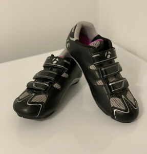 Bontrager Womens Cycling Shoes Solstice Inform Bicycle Racing Black Sz  7.5 Used