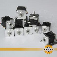 US/DE free!10pcs Nema17 17HS5425 stepper motor,2 phase,2.5A,75oz.in,3D printer