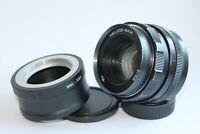 Helios 44m 58 mm f/2 M42 Boke Lens for Zenit E-Mount Sony NEX A 7 R 7S II a5000