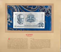 Most Treasured Banknotes Norway 10 Kroner P36c.6 1983 UNC serie CM