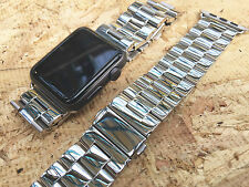 Stainless Steel Classic Buckle Watch Strap Band for Apple Watch Series 2 42mm