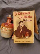 Ye Whisky of Ye Monks DE LUXE Bottle with BOX