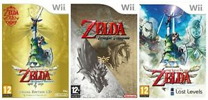 Wii - The Legend Of Zelda - Choose Your Game Multi Listing