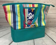 Disney Store Mickey Mouse Large Insulated Bag Food Picnic Family New Nwt