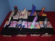 Just The Right Shoe Miniature Shoes by Raine - Lot of 8