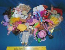 Vintage Junk Drawer Lot NKOB Girls Barbie Mirror Trolls doll shoes parts pieces