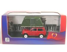 Lada Niva mit Dachzelt (with Roof Tent) rot (red) 1981