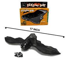 2 FLYING BAT scary holloween bats halloween items supply jokes scary fake NEW