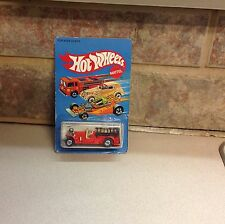 Hot Wheels Old Number 5 1983 on card rare