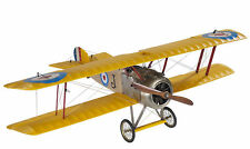 "Sopwith Camel F.1 Medium Biplane Scale Wooden Model 20"" Airplane New"