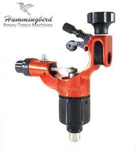 HUMMINGBIRD Aluminum Rotary Tattoo Machine RCA Liner Shader Supply Ink (RED)