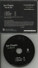 JEN CHAPIN Me Be EXTENEDED MIX PROMO DJ CD Harry Chapin