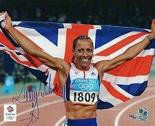 Kelly Holmes Official Olympics Signed 10x8 Photograph