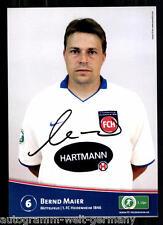 Bernd Maier FC Heidenheim 2009/10 TOP AK + 89600  + A 67333